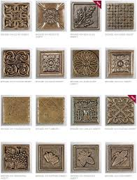 2X2 Decorative Tile Inserts New 100X100 Decorative Tile Inserts bronze inserts decorative 2