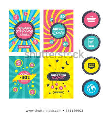 Buy Templates Online Sale Website Banner Templates Online Shopping Stock Vector