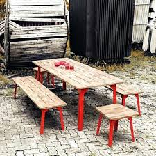 industrial style outdoor furniture. Industrial Outdoor Table Dining Style Set Furniture R
