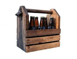 Wooden Crate With Handles Build Wooden 6 Pack Holder Google Search Bottle Holders