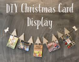Diy Christmas Cards Diy Christmas Card Display Moms Without Answers