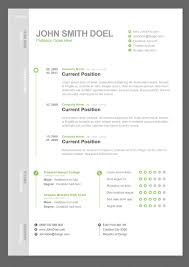 Resume Or Curriculum Vitae Samples Stunning Gallery Of 44 Free Resume Cv Templates Creative Free Resume
