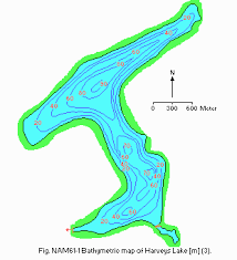 D_bathymetric Map Harveys Lake World Lake Database Ilec