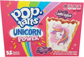 kelloggs s poptarts unicorn power 32 piece limited time offer toaster pastries 58 6 ounce