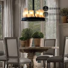 modern annular altar french style rustic kevin reilly led glass candle light luminarias fixtures lustres home candle decorative modern pendant lamp