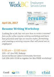 Resume Writing Workshop Singapore Therpgmovie
