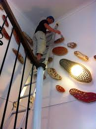 impressive staircase decorating ideas wall ideas to staircase wall decor home decor and design
