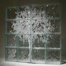 glass block design