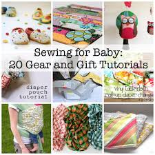Baby sewing tutorials