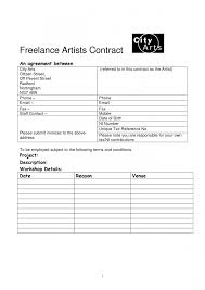 graphic design freelance contract template with great 11 freelance makeup artist contract 57 for makeup ideas