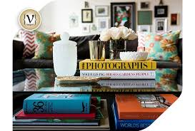 design tip coffee table books