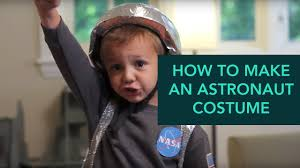 How to Make an <b>Astronaut Costume</b> - Easy DIY Halloween | Care ...