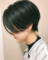 どんな髪型にしても丸くなっちゃう 顔が丸いからシャープな印象に