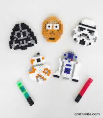 Star Wars Perler Bead Patterns Cool Star Wars Perler Bead Designs Craftulate