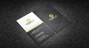 business card templates clean nifty corporate business card template