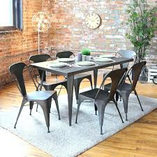 Metal Top Dining Table Target Set Diy Australia Uk Stainless Steel Stainless Steel Top Dining Table