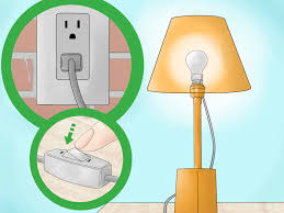 How To Fix A Broken Light Switch How To Replace A Lamp Switch With Pictures Wikihow