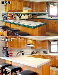 update countertops without replacing them update kitchen tile updating  countertops without replacing cabinets