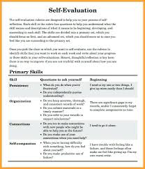 Annual Performance Review Employee Self Evaluation Examples ...