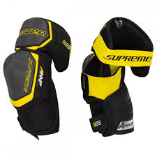 Hockey Elbow Pad Size Chart Bauer Supreme S29 Senior Hockey Elbow Pads