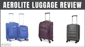 Best Light Luggage Suitcases Aerolite Luggage Review Inexpensive But Good Suitcases