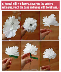 How To Create A Flower With Paper How To Make Paper Flowers One Lovely Life
