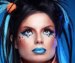 makeup punk hairstyle