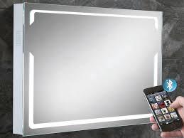 Pulse Illuminated Bluetooth Bathroom Mirror with Built in Speakers