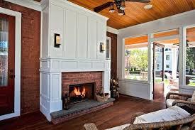 refacing brick fireplace reface brick fireplace contemporary refacing brick fireplace with slate tile