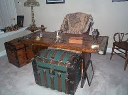 nautical office furniture. Nautical Home Furniture - Sea Chests And Captains Office Desk W