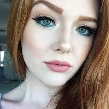 vedi la foto di insram di anastasiabeverlyhills make up red hair pale skin