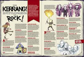 Kerrang Official Rock Chart Kerrang Encyclopaedia Of Rock Phillip Marsden