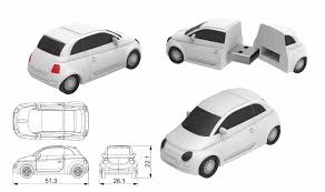 new mini car release2017 New Release 3d Pvc Mini Car Shaped Usb Pen Drives Free Sample