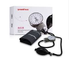 sphygmomanometer. yuwell aneroid sphygmomanometer manual blood pressure monitors watches meter-in from beauty \u0026 health