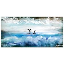 short demo simple step by step instructions on creating an amazing seascape abstract painting you