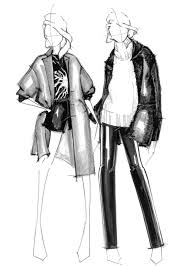 Fashion Illustration Fashion Design Sketches Alessandra De