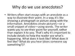 anecdote example in essay   rajipeseck the queen of resumeanecdotes how effectively integrate into your writing