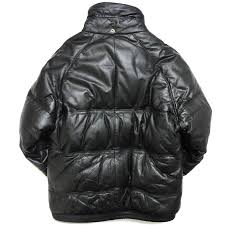leather down jacket double goose country