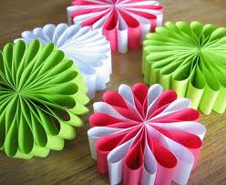 easy party craft ideas : Preparing Homemade Party Decorations  cement patio