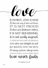 Love Is Patient Love Is Kind Quote Magnificent Wall Art Awesome Love Is Patient Love Is Kind Wall Art Love Is