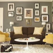 grey walls with brown furniture. brown couch and grey walls with white accents iu0027ll use blue as my furniture