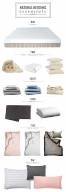 pin it on natural bedding essentials