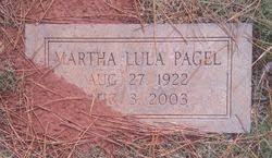 Martha Lula Leslie Pagel (1922-2003) - Find A Grave Memorial