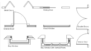 Garage Door Drafting Symbol  WageuziArchitectural Floor Plan Door Symbols