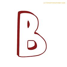 letters alphabet bubble b
