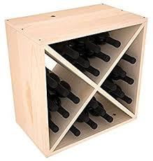 cube wine rack.  Rack Wine Racks America Ponderosa Pine 24 Bottle Cube Unstained And Cube Rack A