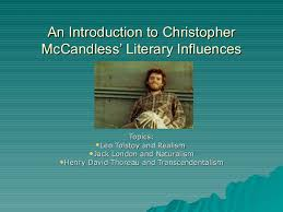 christopher mccandless influences