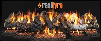 realfyre premium gas logs by r h peterson