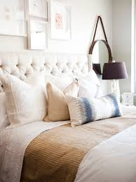 ivory tufted headboard. Unique Ivory Ivory Tufted Headboard With Nailhead Trim To