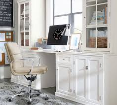 pottery barn office furniture. logan desk antique white pottery barn office furniture